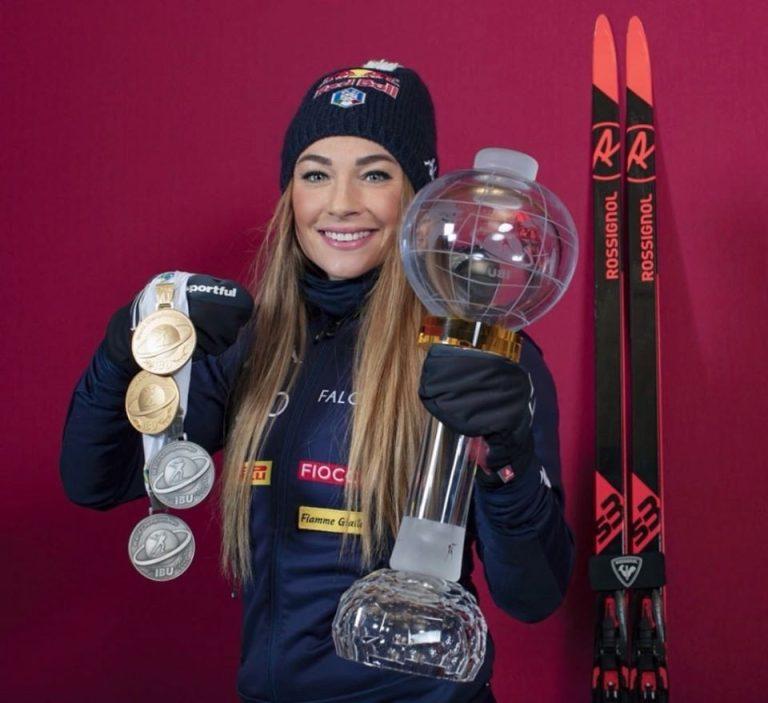 Wierer, Dorothea Wierer, medaglie, mondiali, coppa, biathlon, coronavirus, emergenza