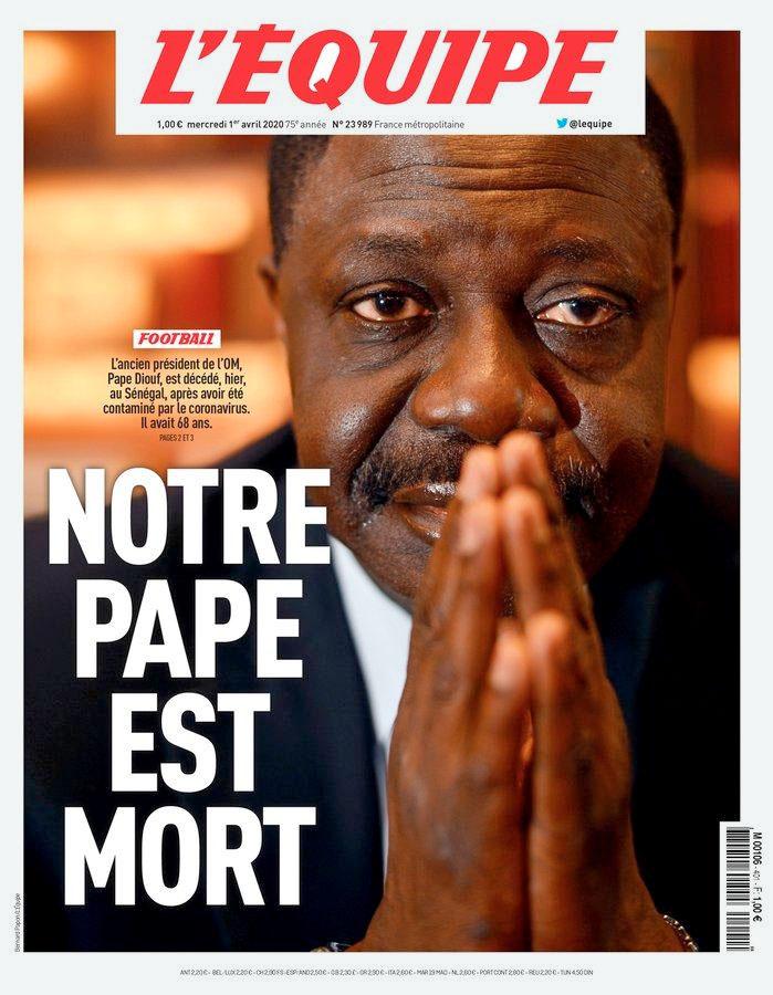Pape Diouf, calcio, coronavirus, procuratore, morte, francia, calcio