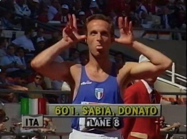 Sabia donato sabia, Los Angeles 1984, Olimpiadi, coronavirus, atletica leggera, mezzofondo