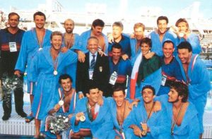 Settebello, Italia, Olimpiadi '92, pallanuoto, barcellona, supplementari, coronavirus, oro, rudic, spagna, pizza