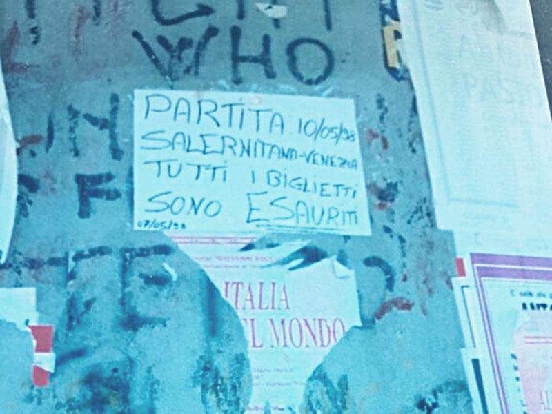Tifosi della Salernitana e biglietti esauriti