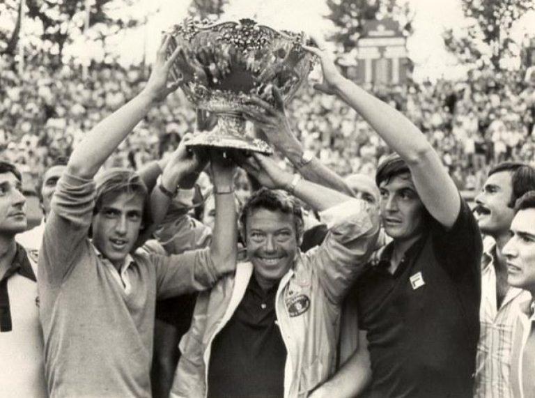 L'Italia vince la Coppa Davis
